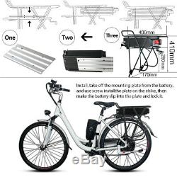 U. P. P 36V 15.6Ah E-bike Batterie Vélo Electrique +Feu arrière, Pour Porte-bagege