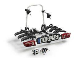 Uebler Galerie, Porte-Vélos Support D'Attelage P32S pour 4 Vélos 54kg Pliable