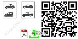 VW Golf VII Sport Van 2014- Porte-Vélos Hayon pour 3 Vélos Galerie, Porte-Vélos