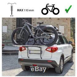 VW Golf VI Année Fab. 2008-2012 Porte-Vélos Hayon Pour 3 Vélos Galerie