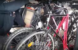 VW T5 T6 Support pour vélos Intérieur vélo Largeur de la roue 4,5 cm-7,2 cm bleu