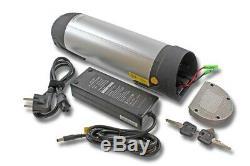 Vélo Électrique Porte-Bouteilles Bouteille Batterie 36V 10AH + Chargeur pour