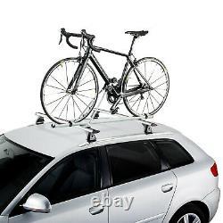 Vélo Galerie de Toit CRUZ Xavier Aluminium pour Audi A4/A6 Allroad Avec Rails