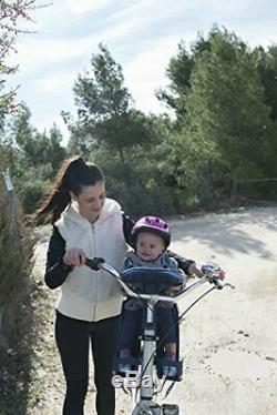 Wee-Ride Weeride Siège Avant Porte-bébé pour vélo Safe Front(0 Denim)